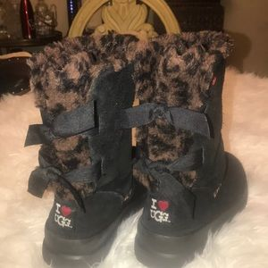 Authentic UGG BAILEY BOW II BOOTS